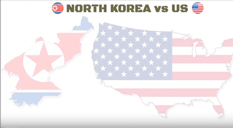 North Korea Vs. USA - (VIDEO) See How The North Korean Military Compares To U.S. In Terms Of Personnel & Equipment