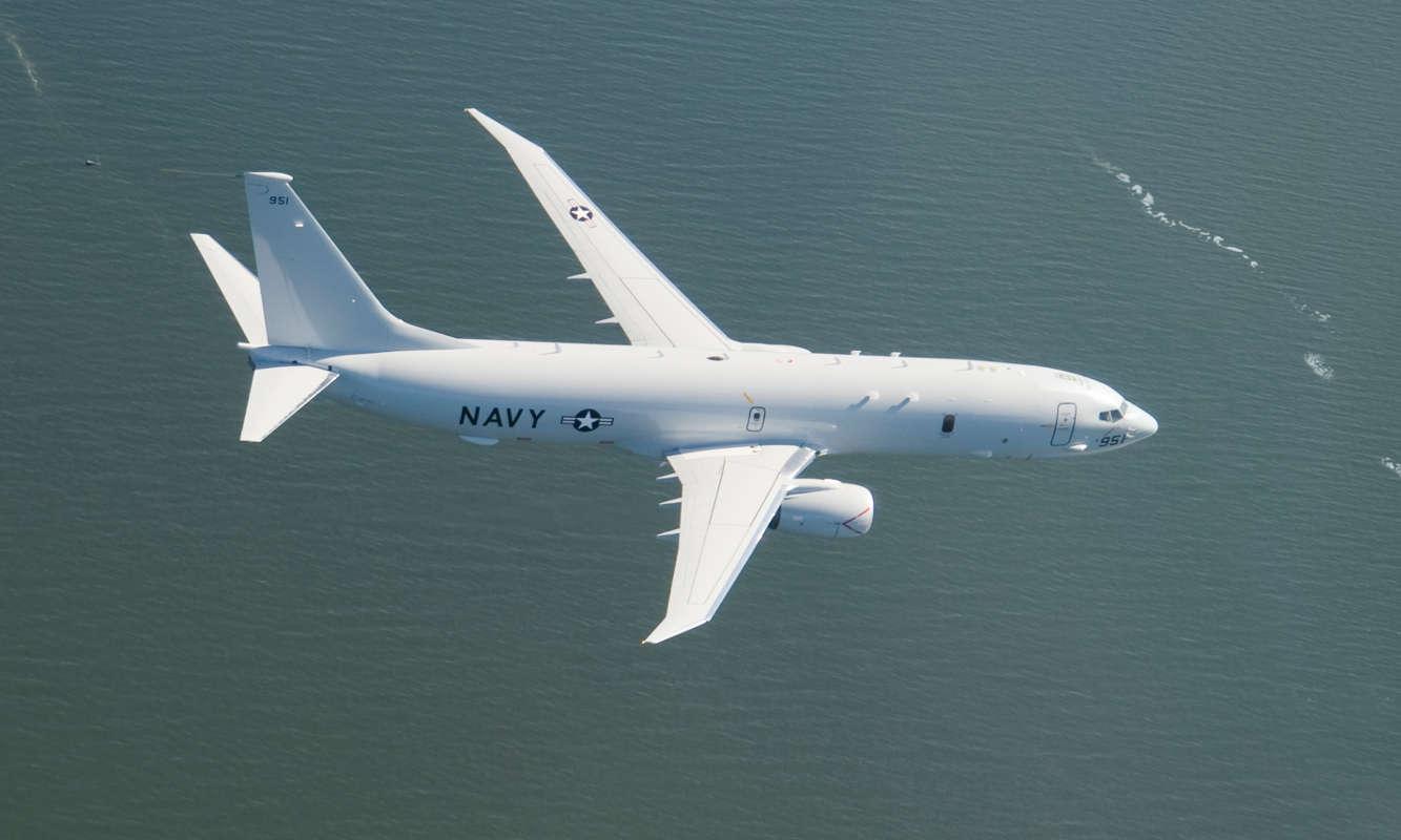 P 8A Poseidon USAF - How the United States Keeps an Eye on North Korea