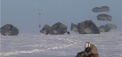 Paratroopers Arctic Jump