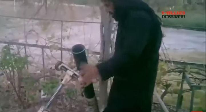 Peshmerga hunts down ISIS mortarman.