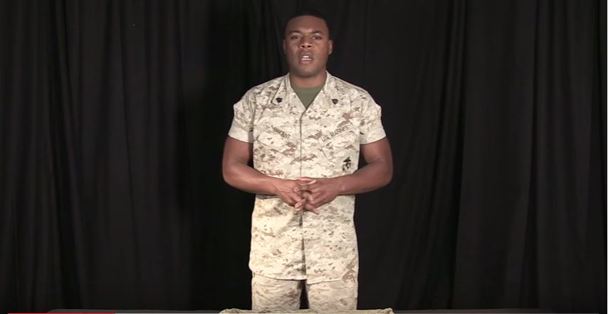 Presentation on Rolling Sleeves - (VIDEO) How to roll your sleeves to both comply with Marine Corps regulations and show off your guns