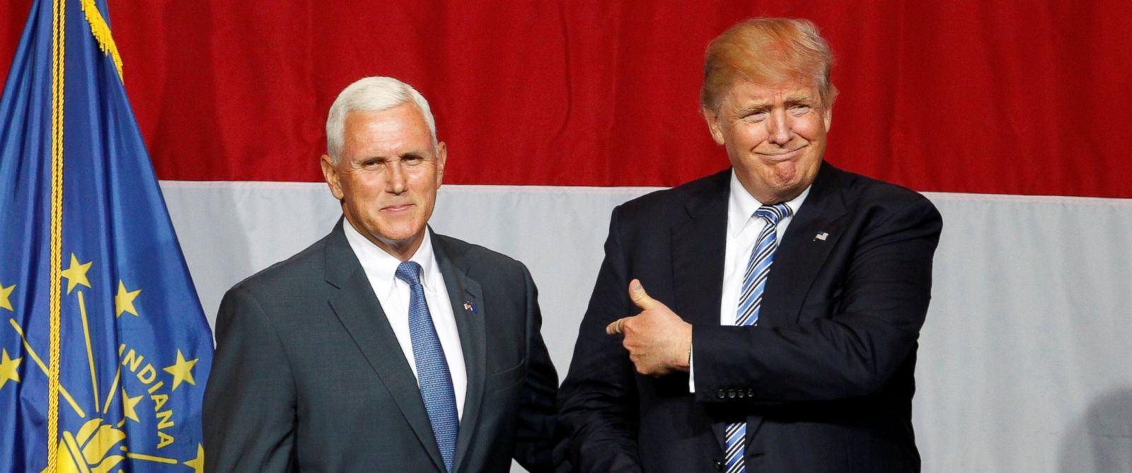 Donald Trump Announces Indiana Governor Mike Pence As VP Running Mate Featured