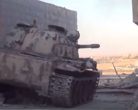 A Rare Look At ISIS Battle Tanks And Armored Vehicles In Action Featured