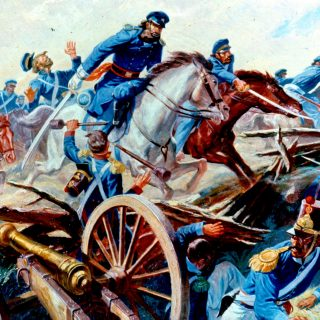 Remember_Your_Regiment,_U.S._Army_in_Action_Series,_2d_Dragoons_charge_in_Mexican_War_1846