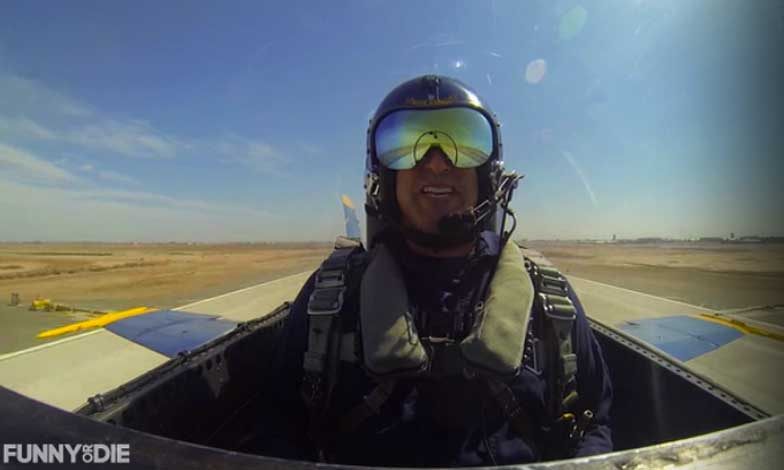 (Video) Rob Riggle Auditions For Top Gun 2…And It's Hilarious! Featured