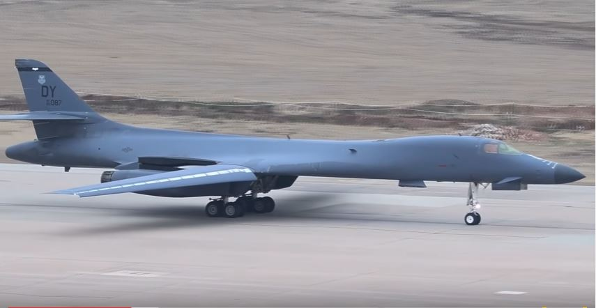 Watch The U.S. Air Force Use The Powerful Rockwell B-1B Lancer During Large Training Exercise Featured