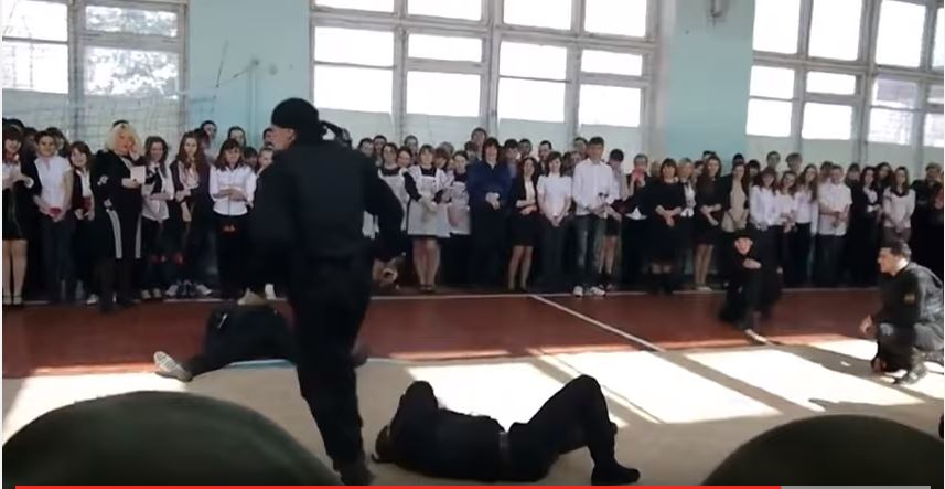 Russian Special Forces Unit Engage In Intense Hand to Hand Combat Training Featured