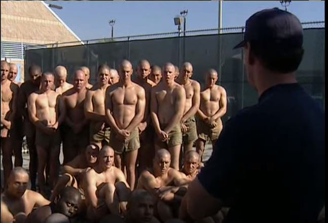 Navy SEAL Trainees Attempt To Complete A 50-Meter Underwater Swim Featured