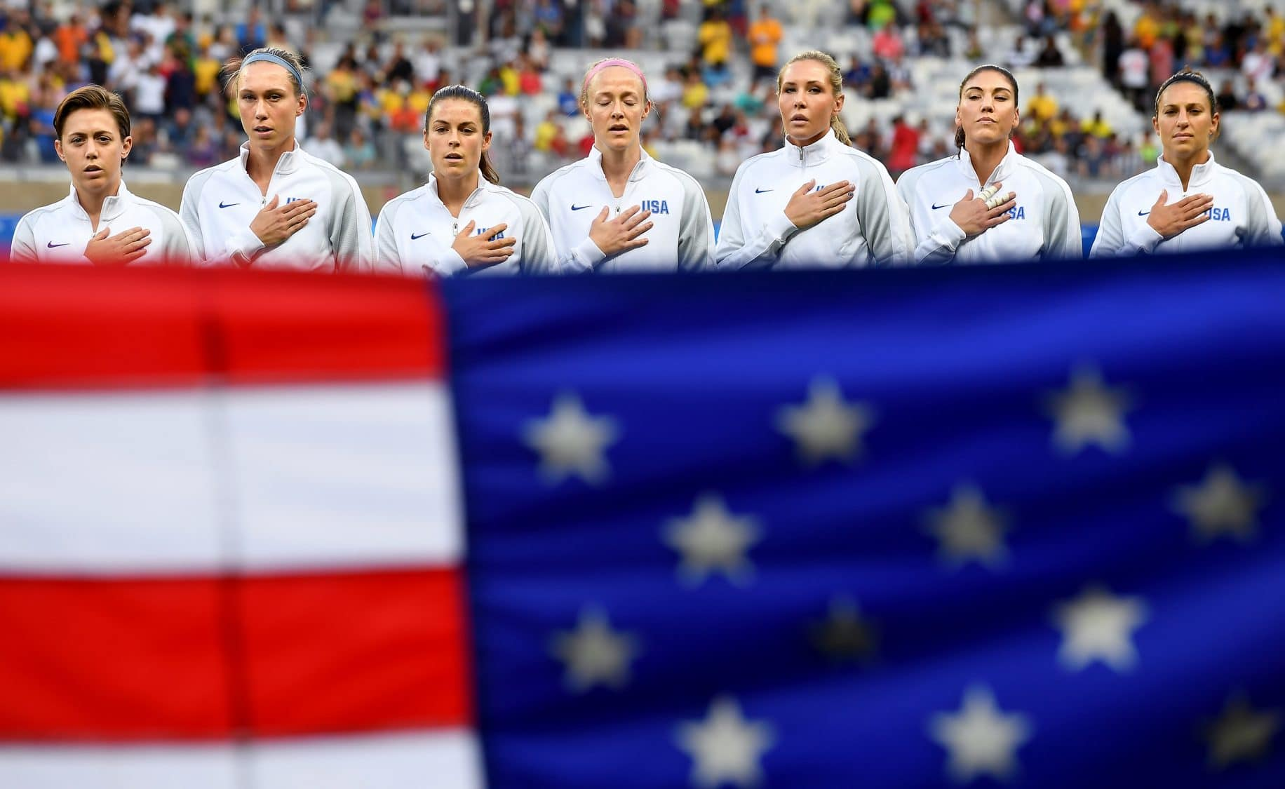 U.S. soccer will now allow players to kneel for national anthem