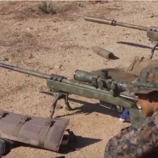 U.S. Marine Scout Sniper Training