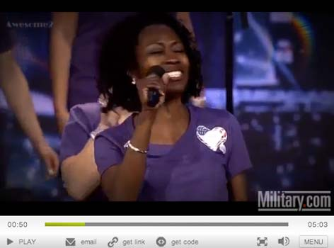 """(VIDEO) US Military Spouses Sing Incredible Rendition Of """"Hero"""" Featured"""