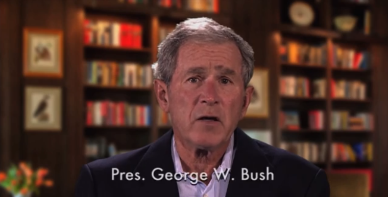(VIDEO) Every Living President & Celebrities Recite The Gettysburg Address Featured
