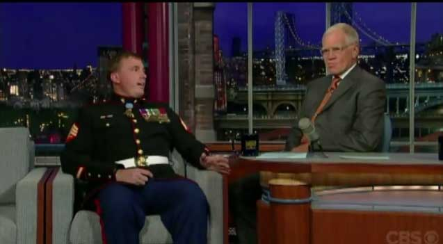 (VIDEO) Medal Of Honor Recipient KILLS On Letterman Featured