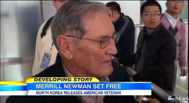 (VIDEO) North Korea Frees American Korean War Vet Prisoner Featured
