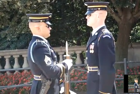 Video: Changing of the Guard – Tomb of the Unknown Soldier Featured