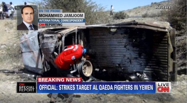(Video) Massive Drone Strikes Take Out Al Qaeda In Yemen Featured