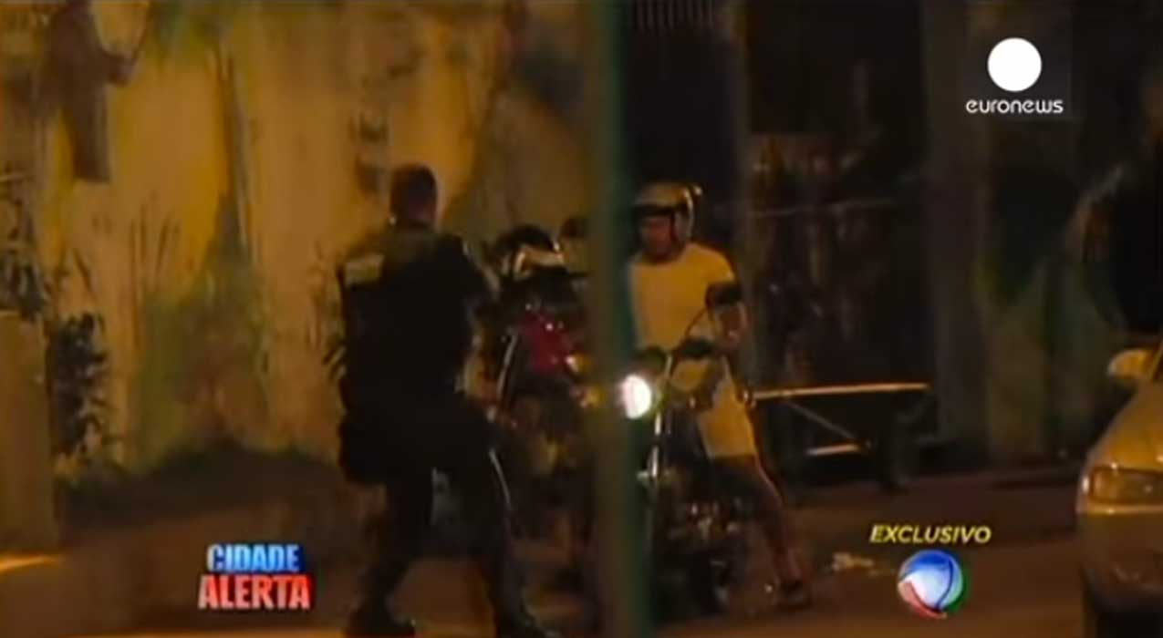 With The World Cup Just Weeks Away, A CRAZY Shootout Erupts In Rio! Featured