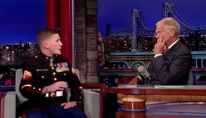 Kyle Carpenter Wows The Audience On David Letterman