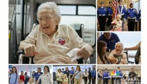 The Oldest Female Veteran In America, 108, Honored In Washington DC