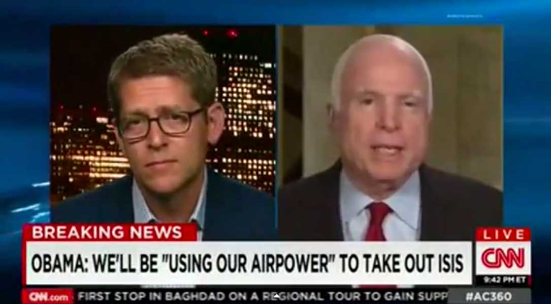 This HEATED Debate Between Jay Carney And John McCain Following Obama's ISIS Speech Is A MUST WATCH Featured