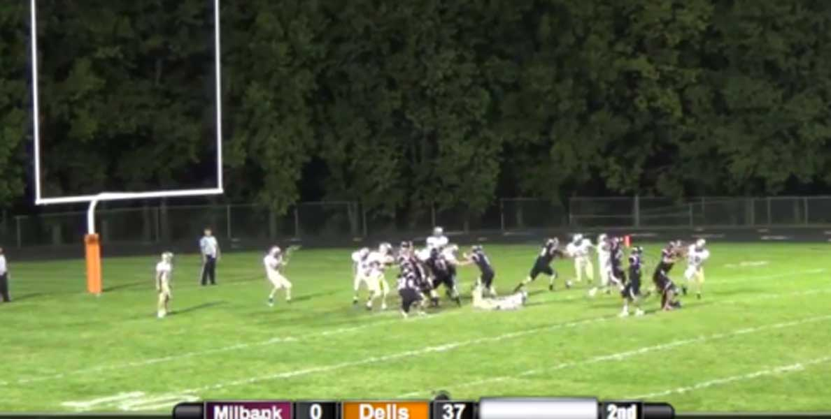 WILD! Player Takes Field Goal To The FACE….And It's Good! Featured