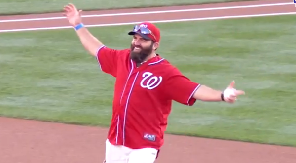 ICYMI: Vet Throws First Pitch as a Grenade! Featured