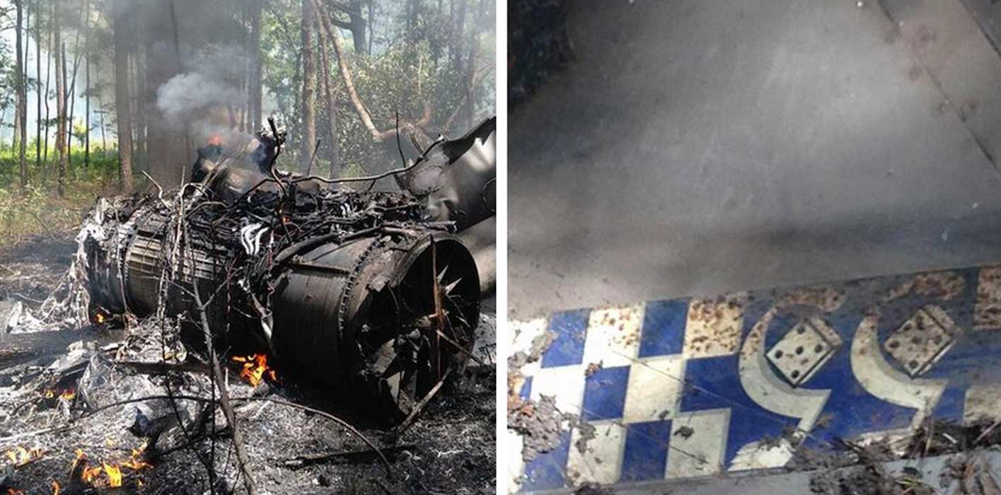 BREAKING: F-16 Fighter Jet Collides With Cessna Airplane Above South Carolina Featured