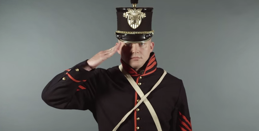 240 Years Of Army Uniforms In 2 Minutes (VIDEO) Featured