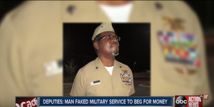 Fake Navy SEAL Uses Uniform & Awards To Beg For Money Featured