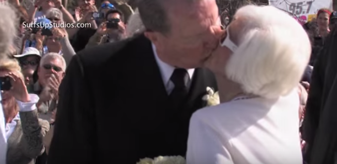 USS Arizona Pearl Harbor Survivors Renew Their Wedding Vows! Featured