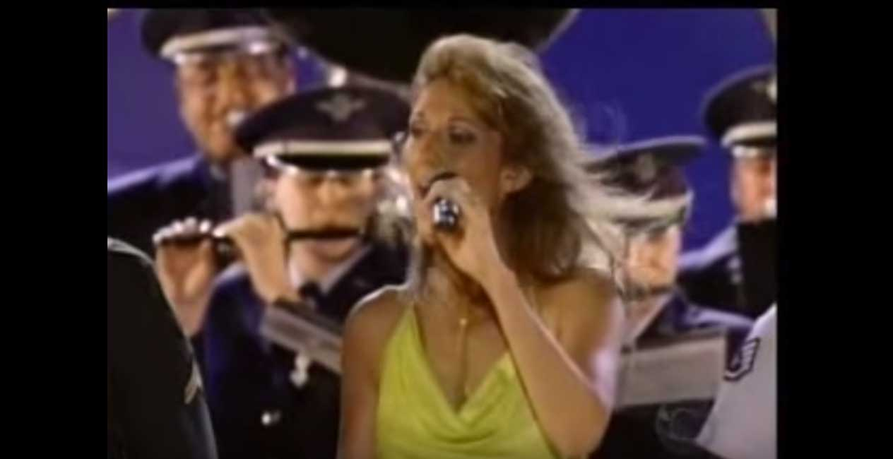 (WATCH) Celine Dion Honors The Troops With A BIG Surprise Featured