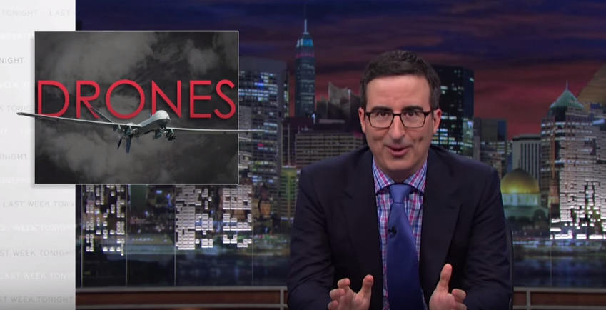 John Oliver Gives His Controversial Take On Drones Featured