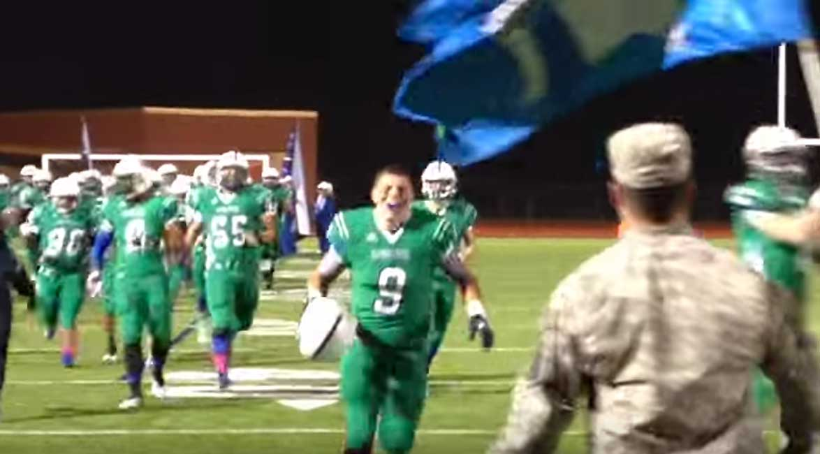 High School Football Player Gets The Surprise Of A Lifetime Featured