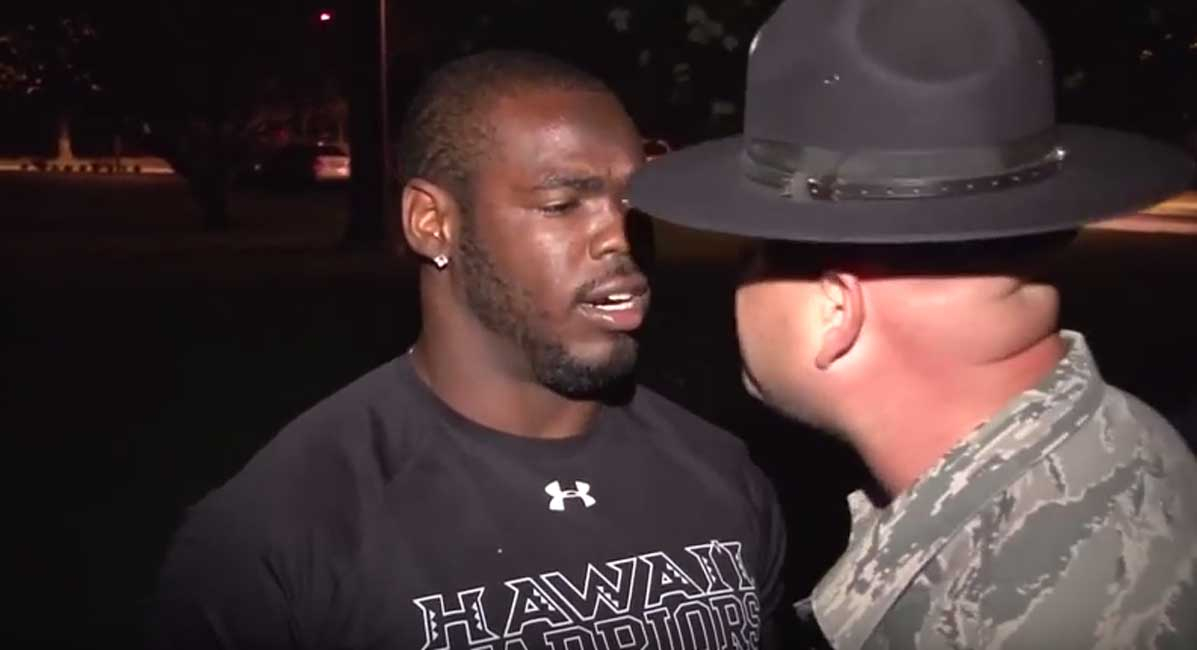 Univ. Of Hawaii Football Team Gets Military Style Wake Up And PT Session Featured