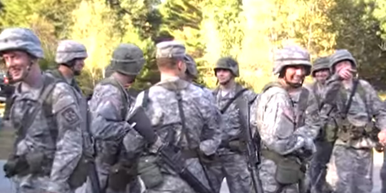 "UMass ROTC Cadets Run From ""Live"" Grenade Prank (VIDEO) Featured"
