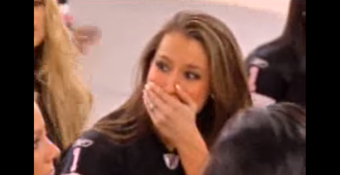 (WATCH) Redskins Cheerleader Finishes Practice & Begins To Cry Featured