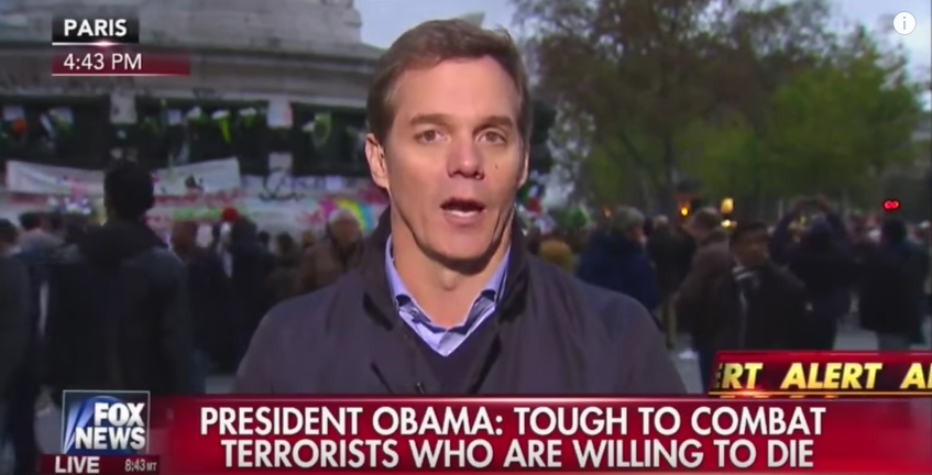 (WATCH) Fox News TV Anchor's Emotions Boil Over After Hearing Obama's G20 Speech On Paris Response Featured