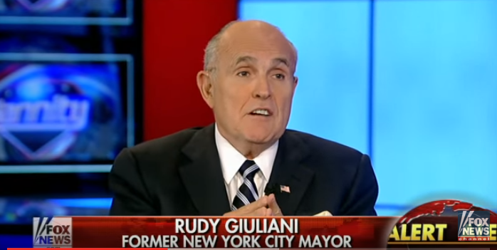 "(WATCH) Fmr. NYC Mayor Giuliani: ""ISIS Is An Obama Creation"" Featured"