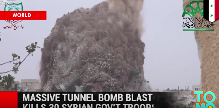 (WATCH) Massive Tunnel Bomb Turns These Government Offices Into Rubble Featured