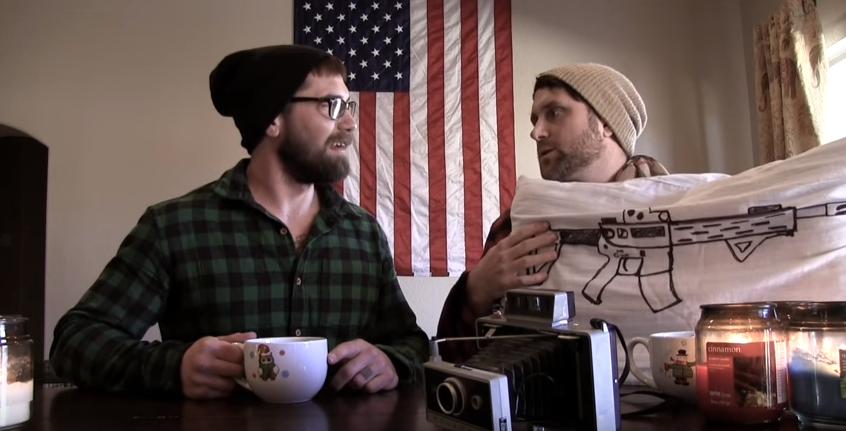"Watch Two Guys Hilariously Mock Gun-Ignorant Media & Create ""PC Pillow Gun"" Featured"