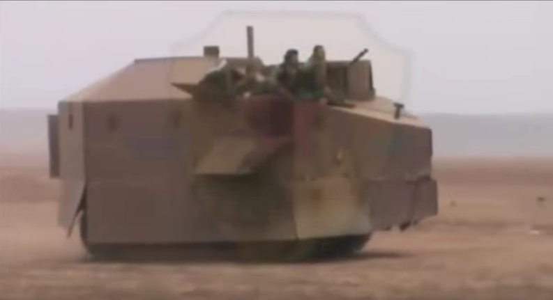 Check Out This Video Of The Crazy Homemade Weapons Used By The Kurds Featured
