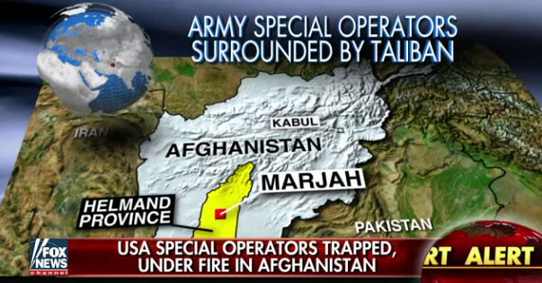 Dozens Of U.S. Troops Still Trapped In Helmand Province, Surrounded By Taliban Featured