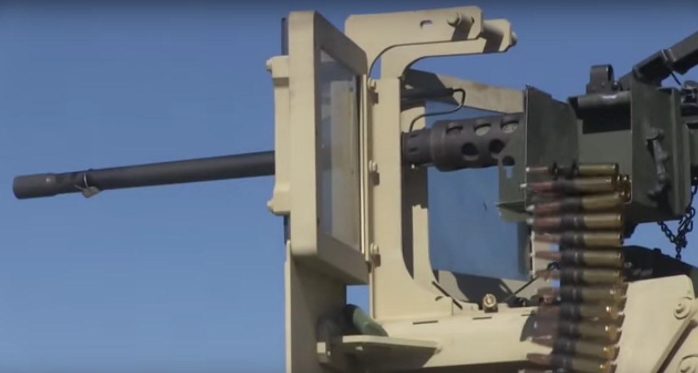 "(WATCH) Artillery Marines Having Fun While ""Playing"" With 50-Caliber Machine Guns Featured"