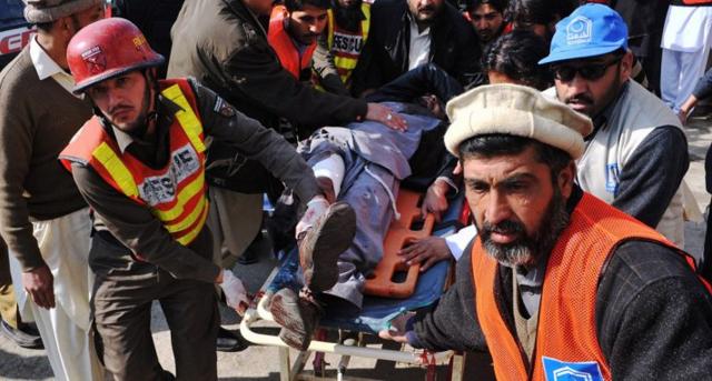 Taliban Storm Pakistani University During Ceremony, Kill 22 & Wound 60 Featured