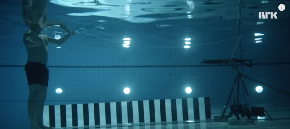 Watch What Happens When A Physicist Fires A Rife At Himself Underwater From 3 Meters Away Featured