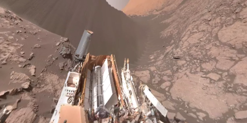 Check Out This Incredible 360 Degree Video From The Surface Of Mars! Featured