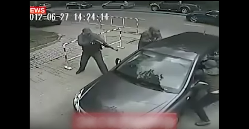 Pulse-Pounding Footage Of Russian Mob Hits & Russian Special Forces Fighting Back Featured