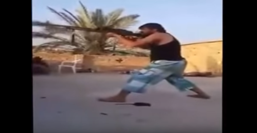 (VIDEO) Trying To Be Rambo Doesn't Work When Facing Off Against A Sniper! Featured
