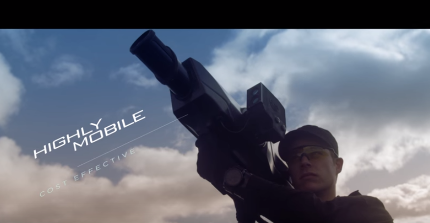 Check Out This New Bazooka That Takes Down Drones With A Giant Net Featured