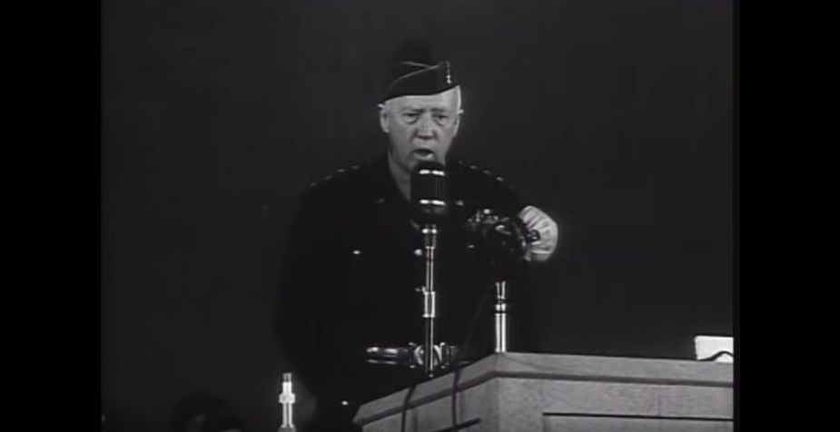 Listen To General Patton In His Own Words From A Documentary Narrated By Ronald Reagan Featured